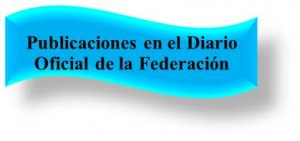 Publicaciones DOF