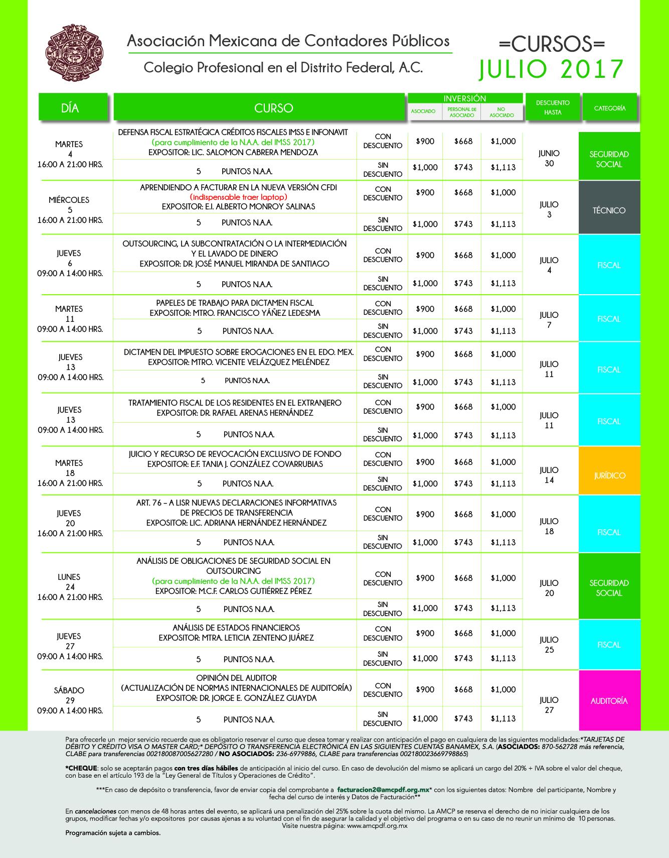 formato calendario mensual JULIO 2017-01