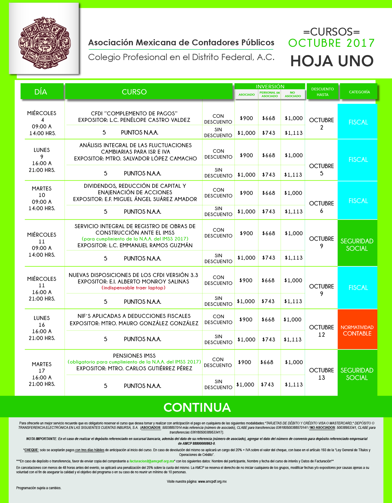 formato calendario mensual OCTUBRE 2017-01