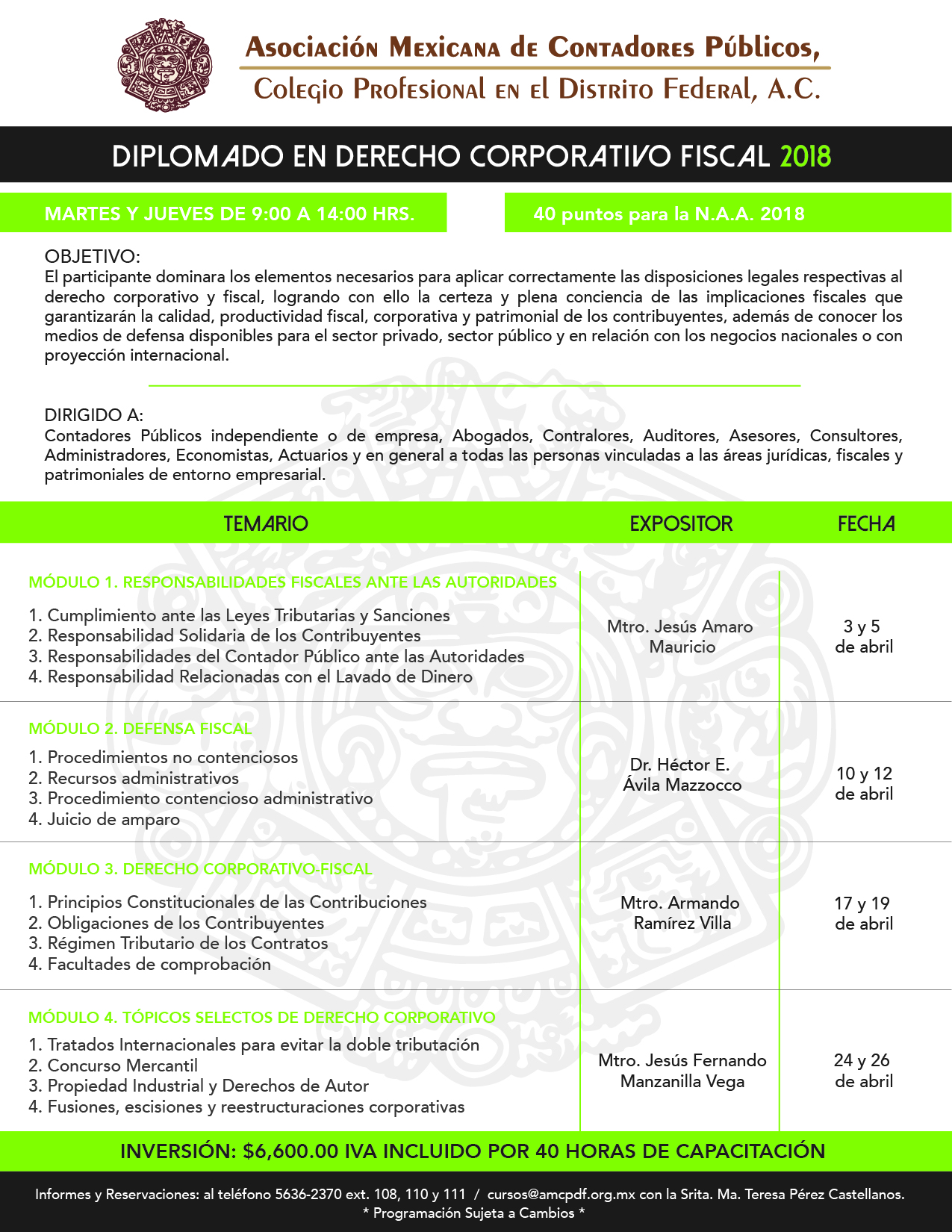 derecho coporativo fiscal 2018-01