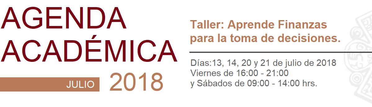 agenda academica julio