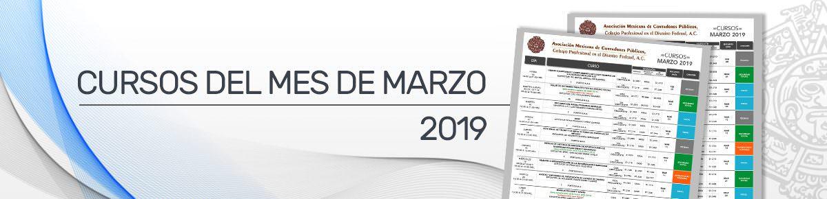 BANNER CURSOS DE MARZO
