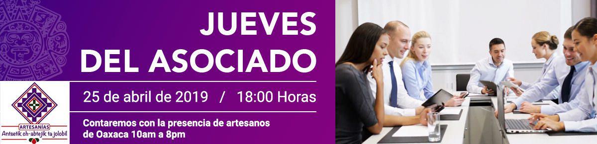Banner Jueves del Asociado abr19